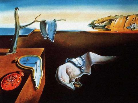 """La persistenza della memoria"", 1931, Salvador Dalí (Museum of Modern Art, New York)"